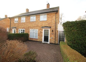 Thumbnail 2 bed semi-detached house for sale in Little Dell, Welwyn Garden City, Herts