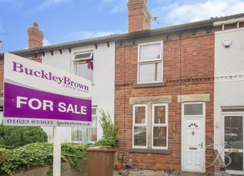 Thumbnail 2 bed terraced house for sale in Carter Lane, Mansfield