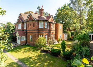 Thumbnail 2 bed flat for sale in Round Oak Road, Weybridge, Surrey