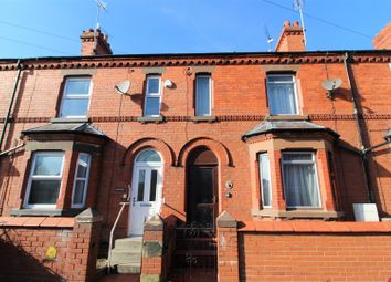 Thumbnail 4 bed terraced house for sale in Maesgwyn Road, Wrexham