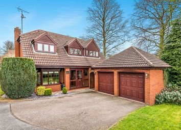 Thumbnail 3 bed detached house for sale in Shoal Hill Close, Cannock