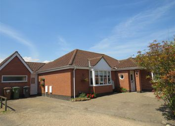 Thumbnail 3 bed detached bungalow for sale in Jex Way, Hopton, Great Yarmouth