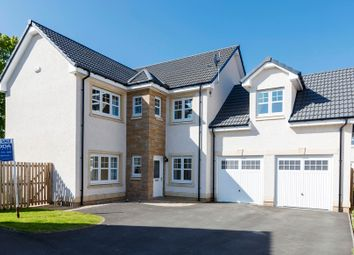 Thumbnail 4 bed detached house for sale in Cramond Drive, Lenzie, Glasgow