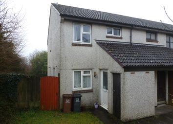 Thumbnail 1 bed flat for sale in Holmer Down, Woolwell, Plymouth
