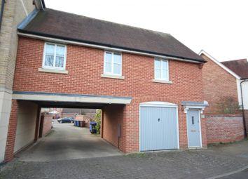 Thumbnail 1 bedroom flat to rent in Sedge Way, Bury St. Edmunds