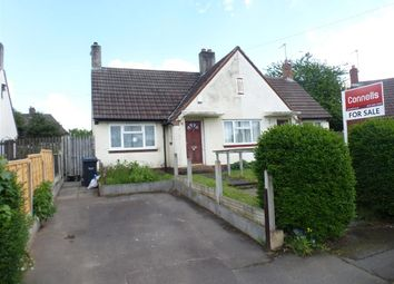 Thumbnail 1 bedroom semi-detached bungalow for sale in Walton Road, Wednesbury