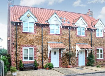Thumbnail 3 bedroom semi-detached house for sale in Station Road, Hillington, King's Lynn