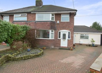Thumbnail 3 bedroom semi-detached house for sale in Whitley Avenue, Barnton, Northwich