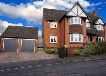 Thumbnail 4 bed detached house for sale in Coppicewood Drive, Littleover