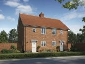 Thumbnail 2 bedroom semi-detached house for sale in The Nelson At Saxon Meadows, Capel St Mary, Suffolk
