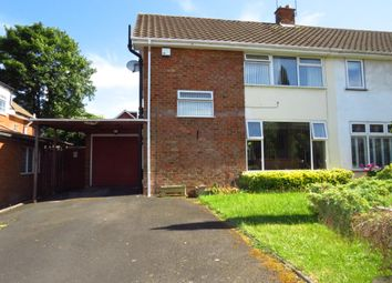 Thumbnail Semi-detached house for sale in Southcrest Road, Redditch