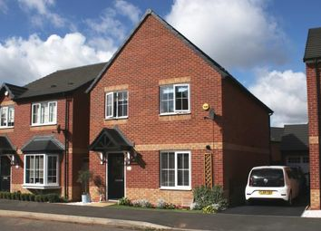 Thumbnail 4 bedroom detached house for sale in Oakway Drive, Woodville, Swadlincote, Derbyshire