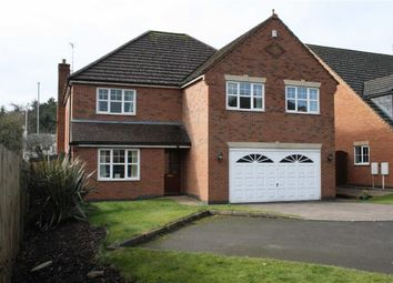Thumbnail 5 bed detached house for sale in Elsalene Close, Groby, Leicester