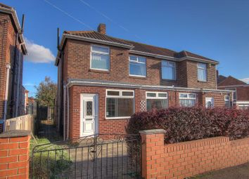 Thumbnail 2 bedroom semi-detached house for sale in Highwood Road, Newcastle Upon Tyne