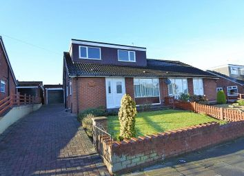 Thumbnail 3 bed semi-detached bungalow for sale in Cammock Avenue, Carlisle