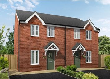 Thumbnail 3 bed semi-detached house for sale in Croxton Lane, Middlewich, Cheshire