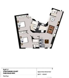 Thumbnail 2 bed property to rent in Lodge Road, London
