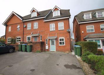 Thumbnail 3 bed end terrace house for sale in Crowhurst Crescent, Storrington, Pulborough