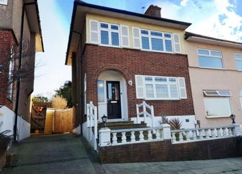 Thumbnail 3 bed semi-detached house for sale in Colliier Row, Romford, Havering