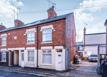 Thumbnail 1 bed end terrace house for sale in Ruding Road, Leicester