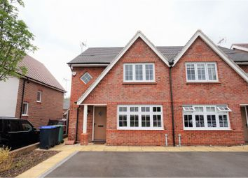 Thumbnail 3 bed semi-detached house for sale in Boehm Drive, Alcester