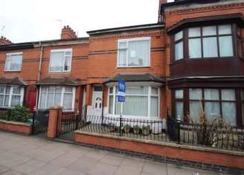 Thumbnail 4 bed town house for sale in East Park Road, Leicester