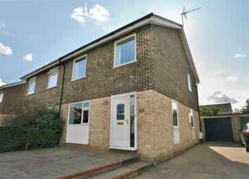Thumbnail 3 bedroom semi-detached house for sale in Simons Cross, Wickham Market, Woodbridge