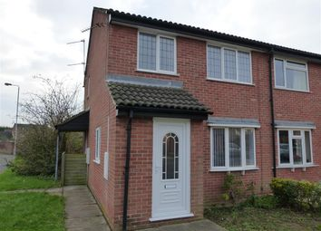 Thumbnail 3 bed semi-detached house to rent in Ladybower Road, Loughborough