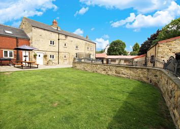Thumbnail 6 bed farmhouse for sale in The Green, Barnburgh, Doncaster