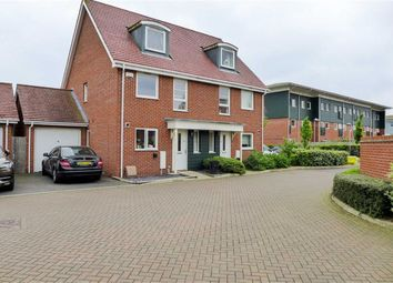 Thumbnail 3 bed semi-detached house to rent in Wraysbury Drive, West Drayton