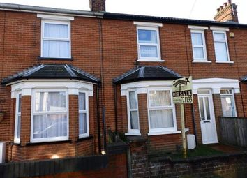 Thumbnail 3 bed terraced house for sale in Stradbroke Road, Ipswich