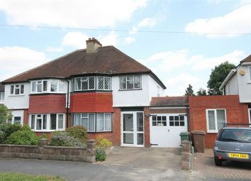 Thumbnail 3 bed semi-detached house for sale in Milton Avenue, Sutton, Surrey