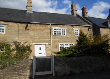 Thumbnail 2 bed end terrace house to rent in High Street, Brigstock, Northamptonshire