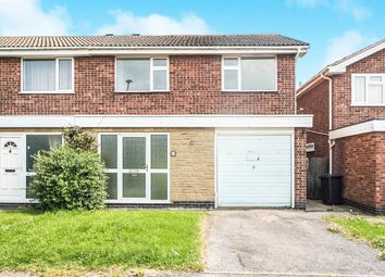 Thumbnail 3 bed semi-detached house for sale in Goddards Close, Leicester