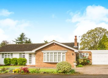 Thumbnail 3 bed detached bungalow for sale in The Yews, Oadby, Leicester
