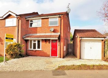 Thumbnail 3 bed semi-detached house for sale in Bayswater Drive, Glen Parva, Leicester, Leicestershire