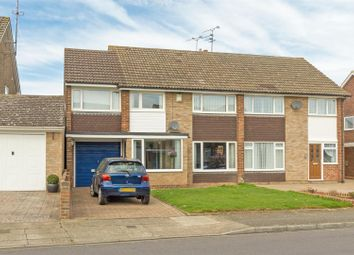 Thumbnail 4 bed semi-detached house for sale in Northwood Drive, Sittingbourne