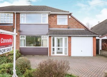Thumbnail 3 bedroom semi-detached house for sale in Linthouse Lane, Wednesfield, Wolverhampton