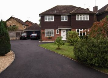 Thumbnail Detached house for sale in Kingcup Drive, Bisley, Woking
