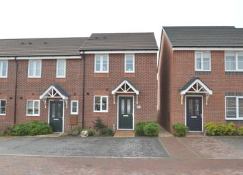 Thumbnail End terrace house for sale in Saxon Drive, Newport