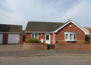Thumbnail 2 bed detached bungalow for sale in Kings Drive, Bradwell, Great Yarmouth