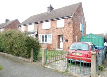 Thumbnail 3 bed semi-detached house for sale in Beckett Avenue, Carlton-In-Lindrick, Worksop