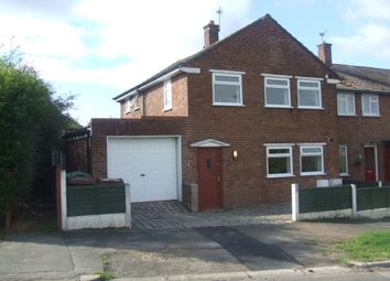 Thumbnail 1 bed flat to rent in Flat 1, 16 Stoneheyes Lane, Barnton, Northwich, Cheshire