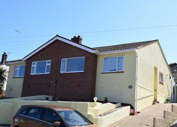 Thumbnail 2 bed semi-detached bungalow for sale in Little Park Road, Paignton, Devon