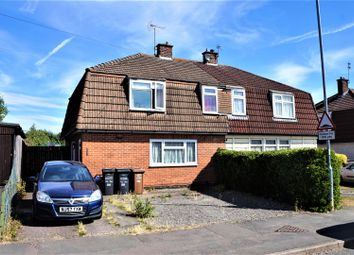 Thumbnail 4 bed semi-detached house for sale in Link Road, Anstey, Leicester