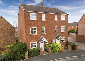 Thumbnail 3 bed semi-detached house for sale in Moorhouse Close, Wellington, Telford, Shropshire