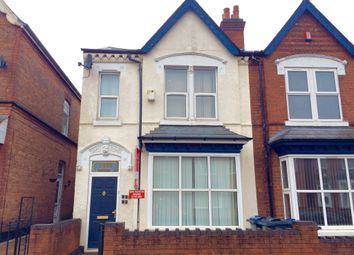 Thumbnail 5 bed semi-detached house for sale in Rotton Park Road, Edgbaston, Birmingham