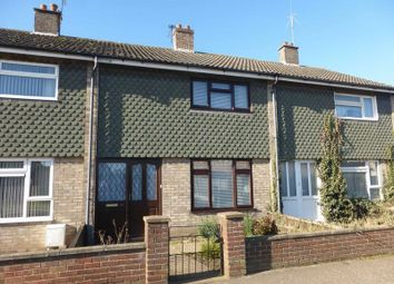 Thumbnail 2 bed terraced house for sale in St. Annes Crescent, Gorleston, Great Yarmouth