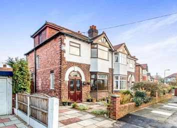 Thumbnail 4 bed semi-detached house for sale in Windsor Avenue, Gatley, Cheadle, Greater Manchester