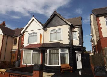 Thumbnail 3 bed terraced house for sale in Cavendish Road, Blackpool, Lancashire, United Kingdom